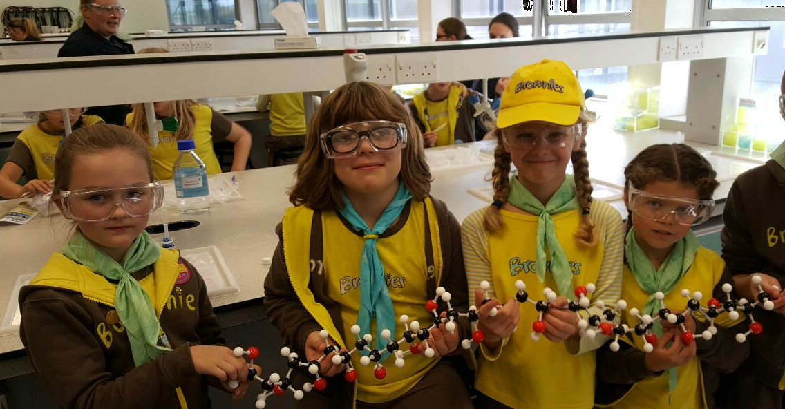 Science-tastic celebrations for International Day of The Girl