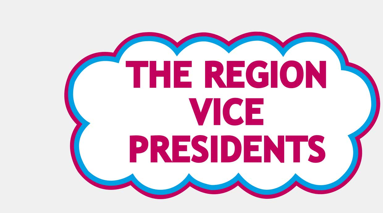 The Region Vice Presidents