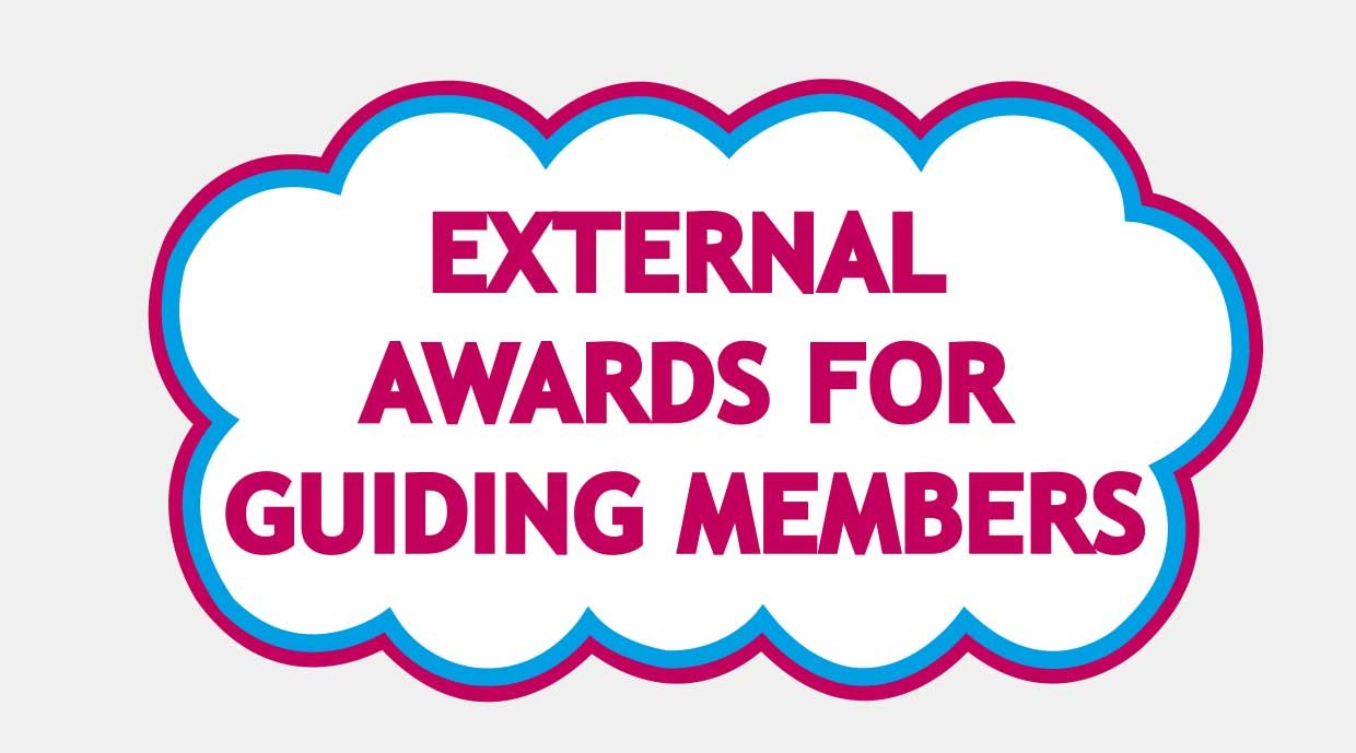 External Awards for Guiding Members