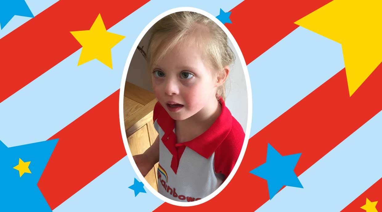 """Rainbows has given my daughter an extra opportunity to be included, to learn, grow and to have lots of fun"""