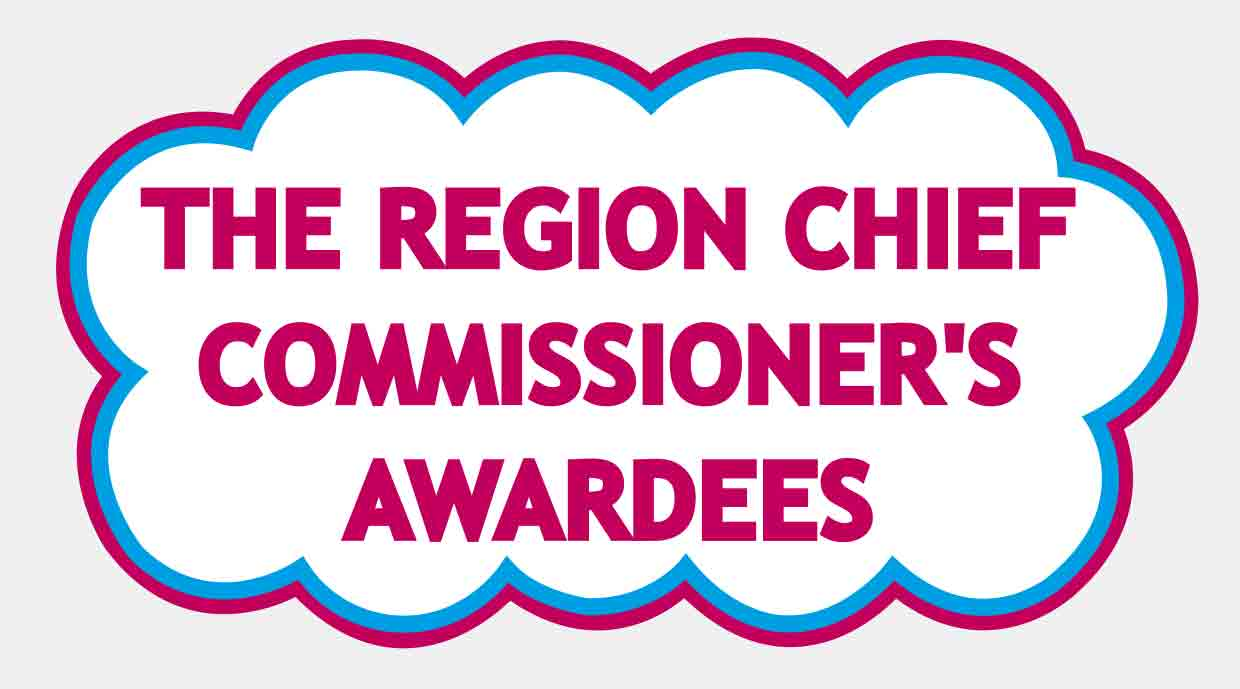 The Region Chief Commissioner's Awardees