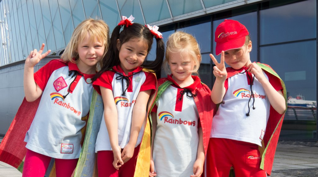 Rainbows celebrate their thirtieth birthday at the ultimate superhero party!