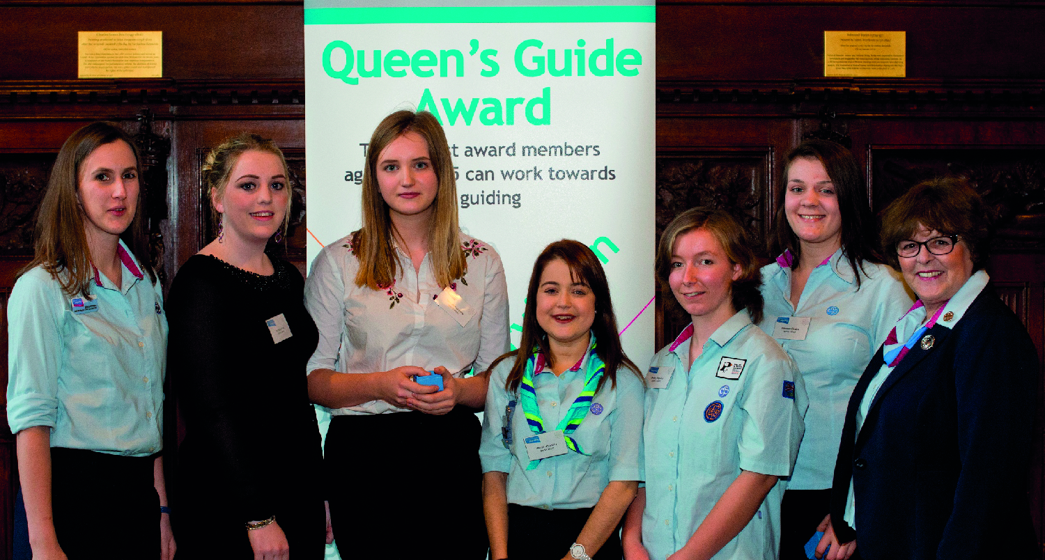 Well done to our Queen's Guide Awardees!