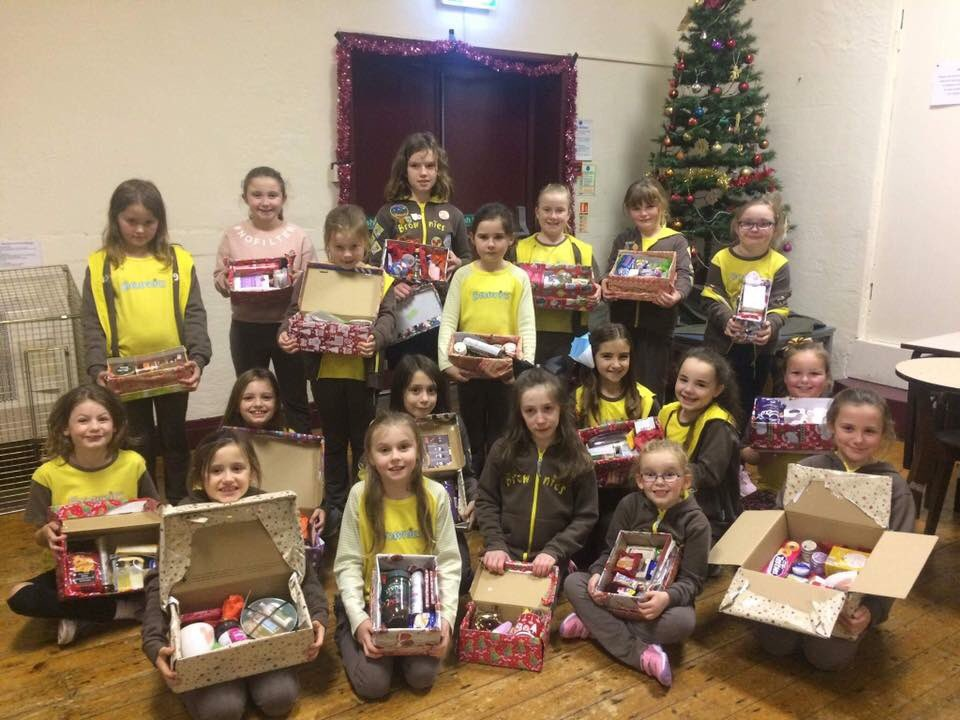 Girlguiding members show the true spirit of Christmas through social action!